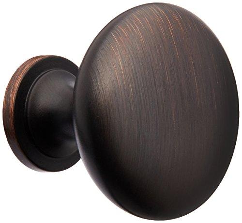 Amerock BP53005ORB 2 Pack Allison Value Hardware Round Knob, Oil Rubbed Bronze ()