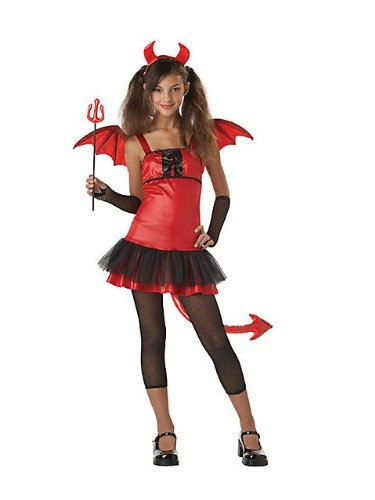 California Costumes Girls Tween Devil Grrrl Costume