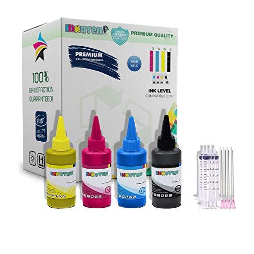 INKUTEN 400ml True Color Sublimation Ink for 288XL Expression XP-440, XP-340, XP-330, XP-430, XP-446, XP-434 Printer