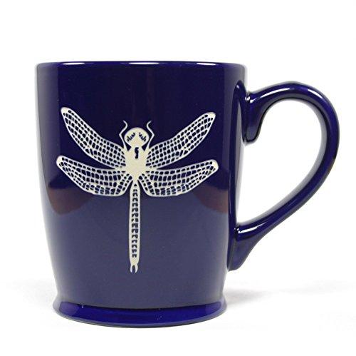 DRAGONFLY Coffee Mug - NAVY BLUE