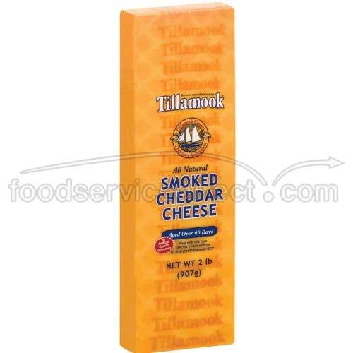Tillamook Smoked Cheddar Cheese, 2 Pound -- 6 per case.
