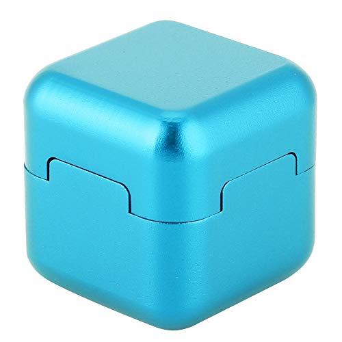 Aluminum Portable Mini Magnetic Pool Chalk Holder Billiard Chalk Holder for Billiard Cue Snooker Accessory(Blue)