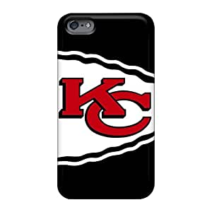 Top10cases Apple Iphone 6s Plus High Quality Hard Phone Cover Unique Design Nice Kansas City Chiefs Skin [wau1393eXvQ]