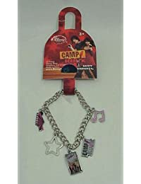 Disney Camp Rock Charm Bracelet with 5 Charms