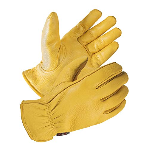 - SKYDEER Deerskin Leather Hi-Performance Utility Driver Work Gloves (SD2210/S)