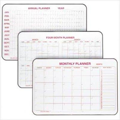 Ghent Markerboard Planner - 2X3' - Annual Planner