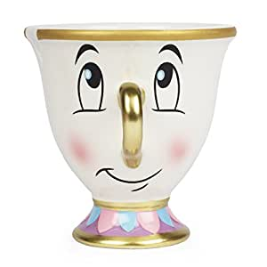 Disney Beauty and the Beast Chip Mug with Gold Foil Printing