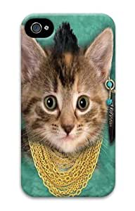 Bad Attitude Kitten PC For Case HTC One M8 Cover and For Case HTC One M8 CoverD