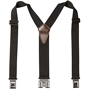 Dickies Heavy Duty Clip Suspenders – Men's Adjustable Y Back Straps with Clips for Work Pants