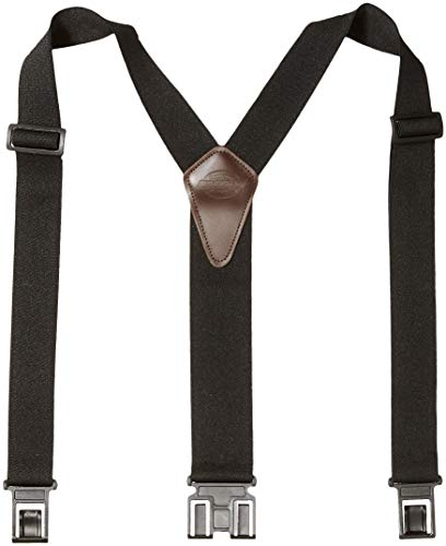 Dickies Men's Perry Suspender,Black,One Size -