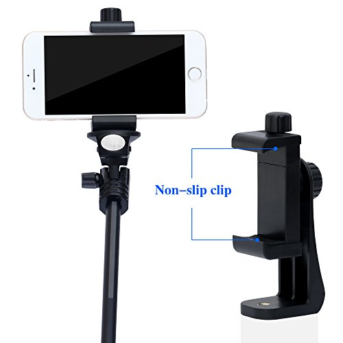 Ipow Universal Cell Phone Tripod Mount Vertical Bracket