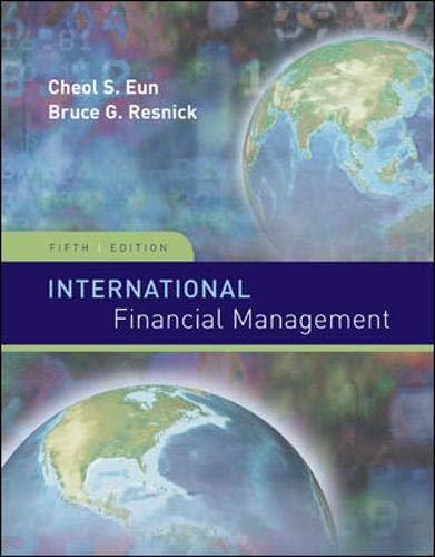 International Financial Management (Irwin/McGraw-Hill Series in Finance, Insurance and Real Estate)