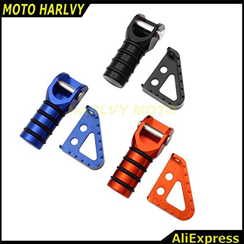 Alfred-Stores - New Gear Shifter Lever Tip & Billet Rear Brake Pedal Step Tips For KTM SX XCW SXF EXCF SMR LC4 MX ENDURO 125-530 690 950 990 ()