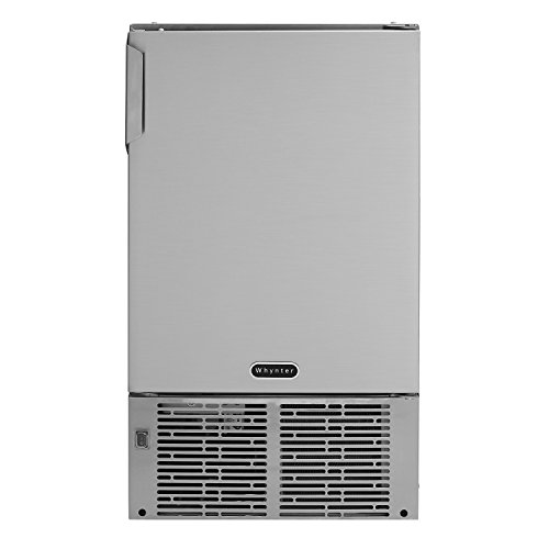 "Whynter MIM-14231SS 14"" Undercounter Automatic Marine Ice Maker with 23lb Daily Output, Stainless Steel Review"