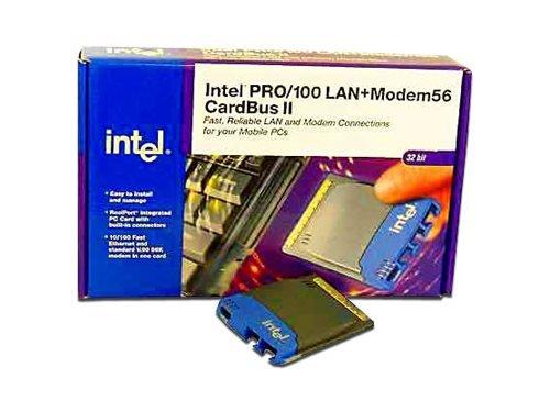 Intel PRO/100 Mobile Adapter LAN+Modem56 CardBus II RP (32-bit) ()