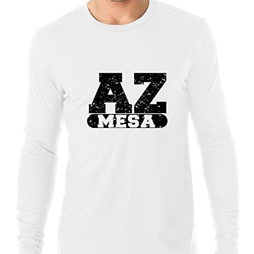 Mesa, Arizona AZ Classic City State Sign Men's Long Sleeve T-Shirt