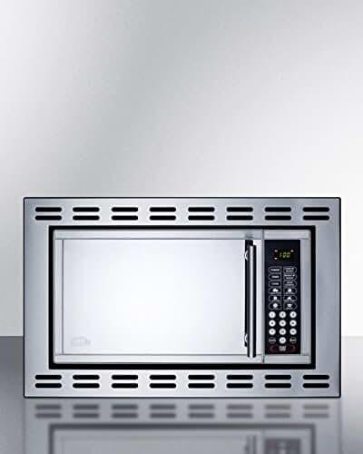 Summit OTR24 Microwave, Stainless-Steel