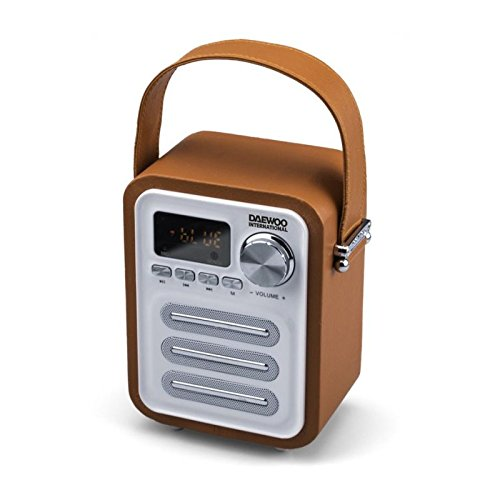Radio Retro Dig. bluetooth DAEWO DBT07OR, naranja