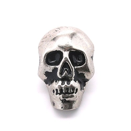 Skull Concho Nickel with Black 1