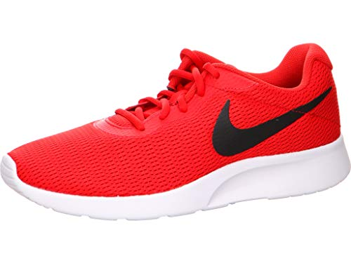 - Nike Tanjun Mens Running Trainers 812654 Sneakers Shoes (UK 10.5 US 11.5 EU 45.5, University red Black 601)
