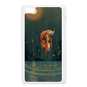 Personalized New Print Case for Ipod Touch 4, Sly Fox Phone Case - HL-699833