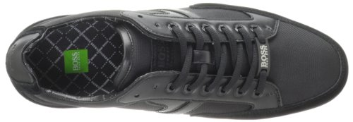 Spacit- Sneaker in pelle scamosciata con BOSS Green