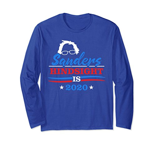 Unisex Bernie Sanders Hindsight 2020 For President Birdie Hair Medium Royal Blue