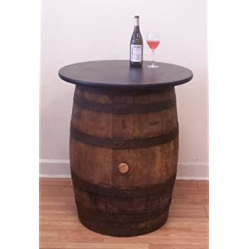 Amazon Rustic Whiskey Barrel Table Wine Barrel Table Bar