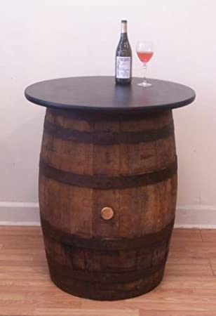 White Oak Whiskey Barrel Table Pub Bistro Bar