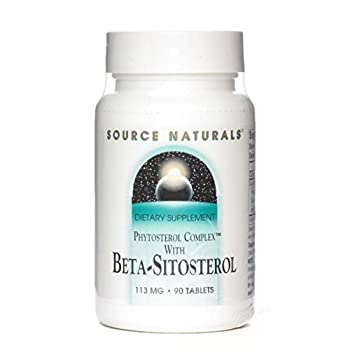 SOURCE NATURALS, Beta Sitosterol - 90 tabs