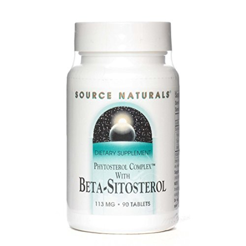Source Naturals Beta-Sitosterol 113mg (Formerly Phytosterol Complex) Anti-Immflamitory Plant Sterol Ester Provides a Boost to The Immune System and Supports Healthy Cholesterol Levels – 90 Tablets For Sale