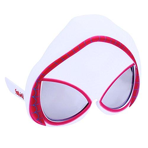 Sun-Staches Costume Sunglasses Spider-Gwen Party Favors UV400]()
