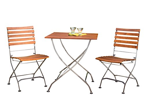 Phat Tommy Outdoor Patio & Garden Galleria Square Table w...