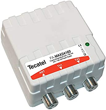 Tecatel FA-MAX24160 - Fuente de alimentación 24 V, Color Banco