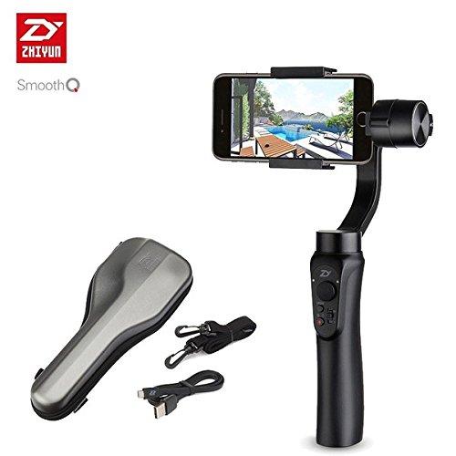 【日本正規代理店】Zhiyun Smooth-Q スマートフォン用 3軸 ジンバル/スタビライザー (ブラック)  ブラック B0762YWKGH