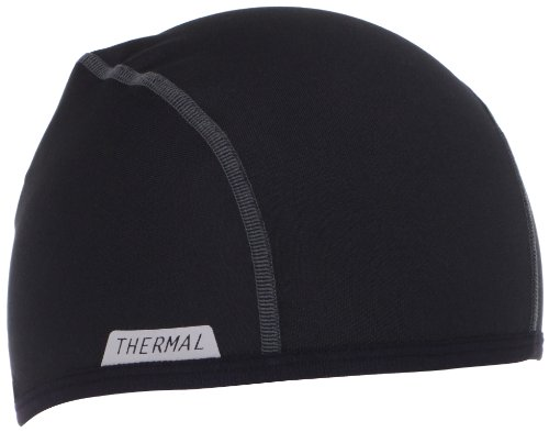 Pearl Izumi Men's Thermal Skull Cap, Black, One (Cycling Summer Skull Cap compare prices)