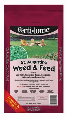 St Augustine Weed (Voluntary Purchasing Group 10915 St. Augustine Weed & Feed, Covers 2,500-Sq.-Ft. - Quantity 1)