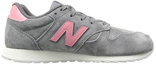 Ny Balans Kvinna 520v1 Sneaker Grå / Pink
