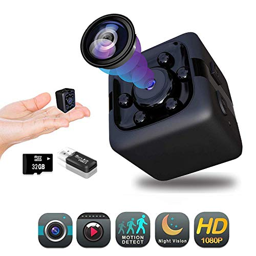 Hidden Camera 1080P | Spy Camera | Premium Pack | Mini Spy Camera | Hidden Nanny Cameras | Hidden Spy Camera | Hidden Cam | Security Camera Full HD