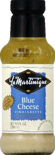 La Martinique Blue Cheese Vinaigrette Dressing 10 Oz (Pack of 3) by La Martinique