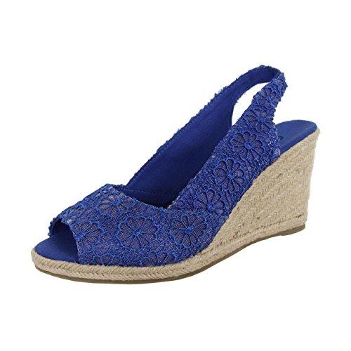 cuña para mujer urbanos azul de B042683 B7200 marino Zapatos Zqtx4z5wgg