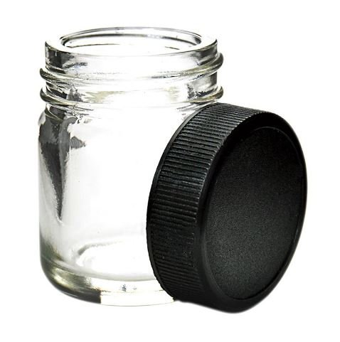 Glass Gram Jars (6 Jars) - Air Tight Medical Cannabis Containers