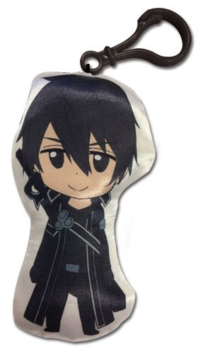 Great Eastern Sword Art Online Kirito 4 Inch Peluche Llavero ...