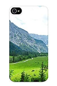 Ellent Design Landscape Austria Mountains Eben Am Achensee Tyrol Grass Nature Mountains Phone Case For Iphone 4/4s Premium Tpu Case For Thanksgiving Day's Gift