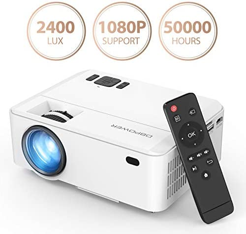 Projector DBPOWER Multimedia Supporting Smartphones
