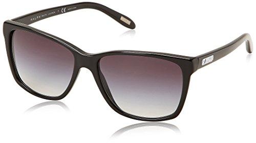 Ralph Lauren Women's 0RA5141 Square Sunglasses,Black,57 - Sunglasses Ralph Lauren Ladies
