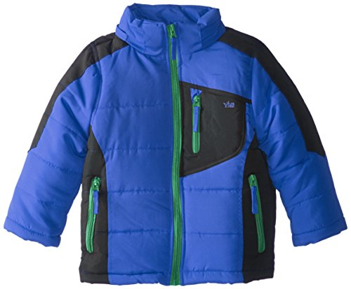 Block Royal with Detachable Color Boys' YMI Hood Bubble Jacket q7EwP4
