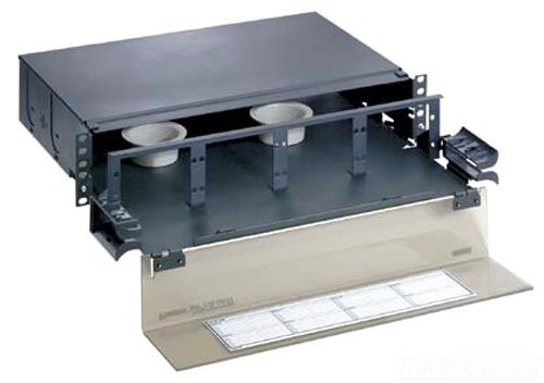 Panduit FMD2 Fiber Optic Drawer, Black