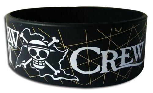 One Piece: Luffy Straw Hat Crew Pvc Wristband
