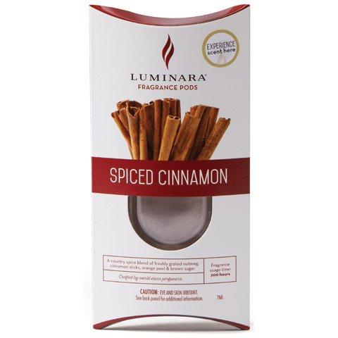 Luminara Fragrance Cartridges - Spiced Cinnamon| For Luminara Fragrance Diffusing Flameless Candle Pillar